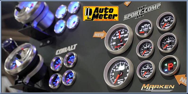Autometer New Sportsman Touch Screen AND More GPS Speedo Options