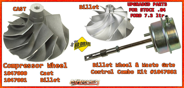 BD Diesel Turbo, Reman Turbos & Turbo parts Upgrade