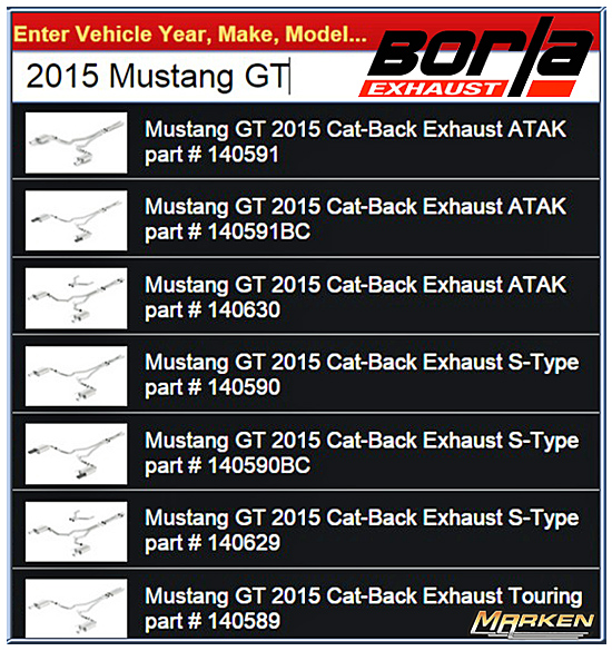 Aftermarket Exhaust for the 2015+ Mustang GT 5 0L