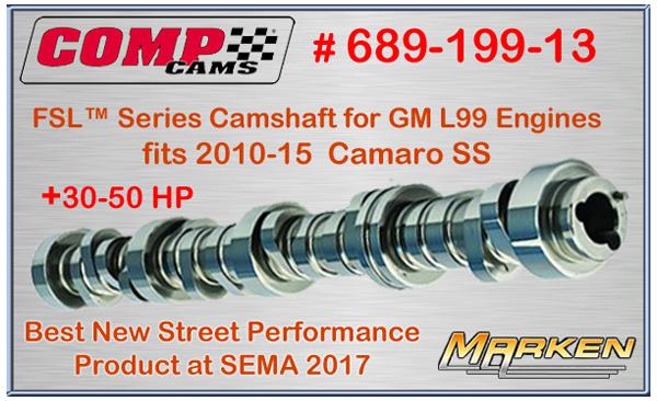 Comp Cams 2017 SEMA Award Winning Cam 689-199-13 for Best
