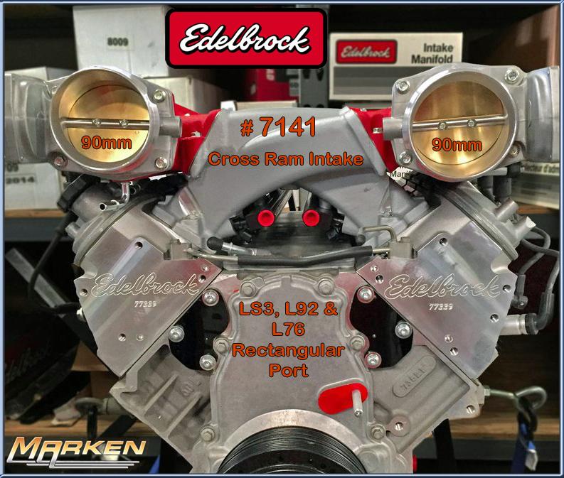 Edelbrock LS Cross Ram Intake Manifold # 7141 Is Perfect