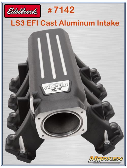Edelbrock LS3 Pro-Flo XT Cast Aluminum Intake + Victor Jr