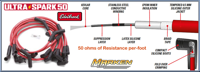 Edelbrock Max-Fire® Ultra-Spark® Performance Spark Plug Wires on spark plugs on, spark plugs for dodge hemi, spark screen, short circuit wires, spark plugs 2003 dakota, spark plugs awsf 32pp, spark ignition, spark plugs for toyota corolla, spark plugs replacement, ignition wires, coil wires, spark pug, spark plugs location diagram, spark indicator, spark plugs 2006 pacifica, wire separators for 8mm wires, gas grill ignitor wires, spark up meaning, plugs and wires, spark plugs brands,
