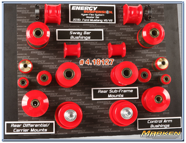 Energy Suspension Bushing Kits For 2015 Mustang And 2010
