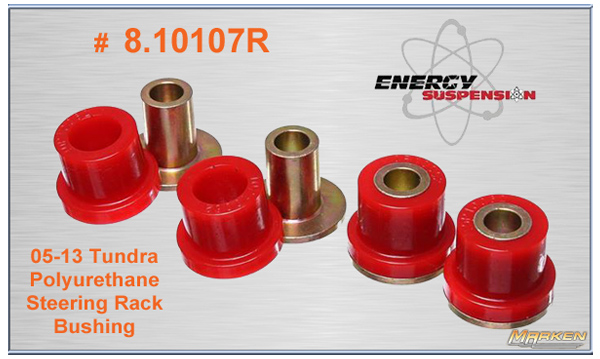 Energy Suspension Polyurethane Steering Rack Bushing Set