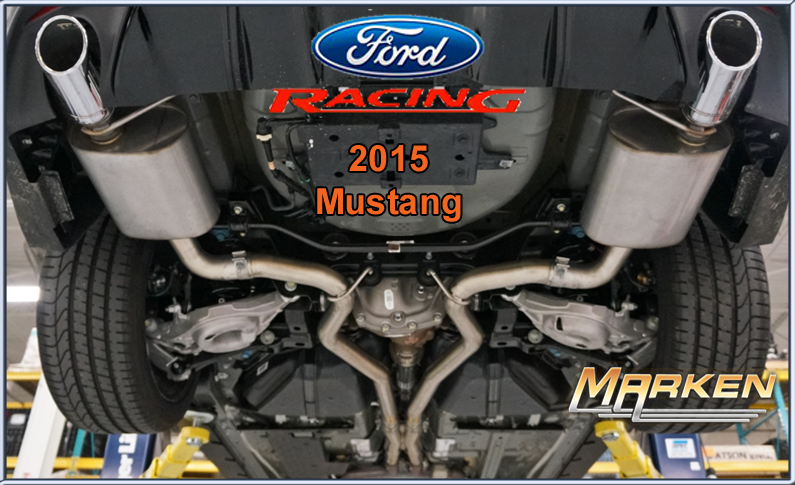 Ford Racing Cat Back Exhaust For The 2015 Mustang 5 0l And