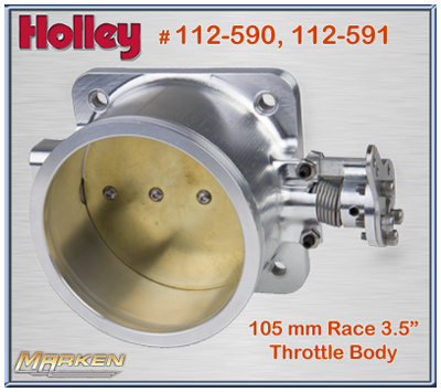 Holley Throttle Bodies: LS