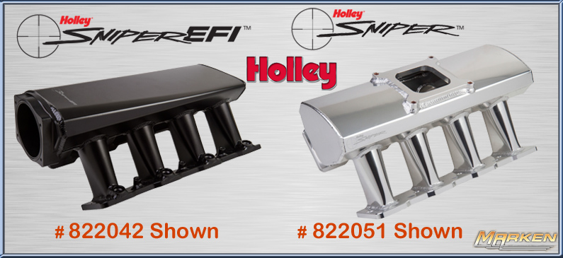 Holley Carburetors, Intakes and Accessories from Marken