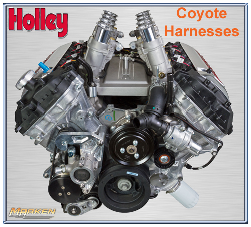Holley Plug And Play Wire Harnesses For Their Dominator And Hp Efi Systems For The Gen 3 Hemi
