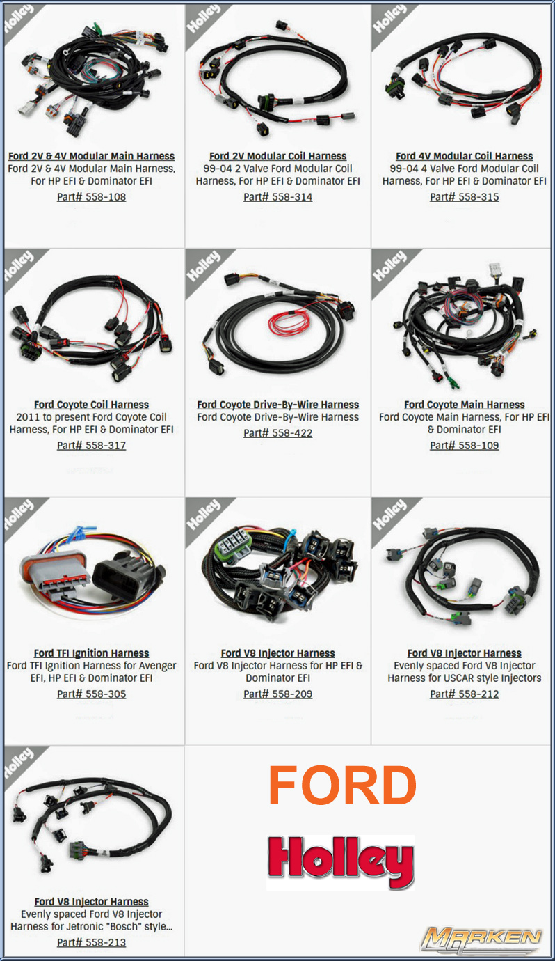 Holley Plug And Play Wire Harnesses For Their Dominator Hp Efi 4r70w Harness Transmission Control Will Also Be Available Soon When Using The Ecu Which Allows Drive By As Well