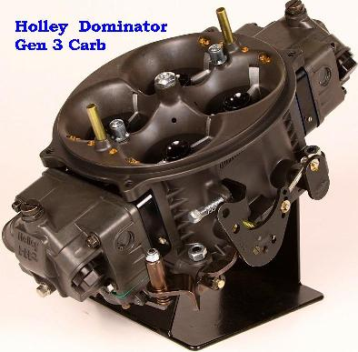 Holley Ultra HP Carburetor (E85 & Gas) & Dominator Gen 3