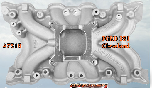 Weiand X–CELerator Single Plane Intake For Ford 351