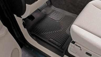 Husky Wheel Well Guards And X Act Contour Floormats