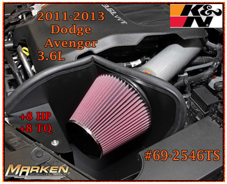 K Amp N Intake For 2012 13 Toyota Camry 69 8620ttk And 2012