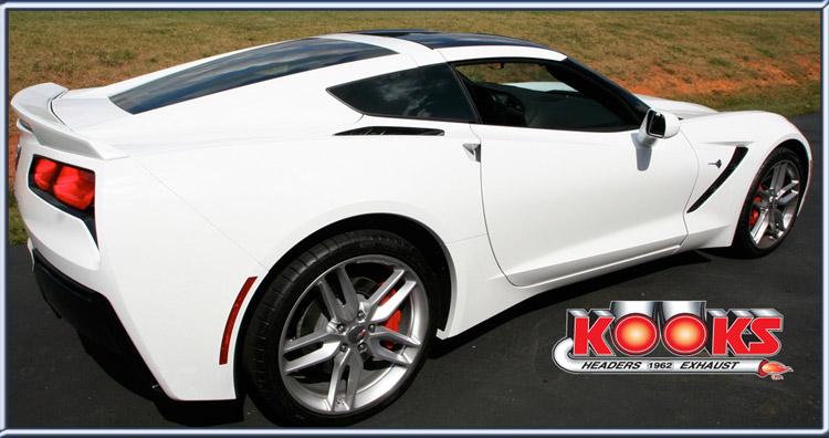 Kooks Headers & X-Pipe 2014 Corvette Stingray 6 2 ltr @ SEMA