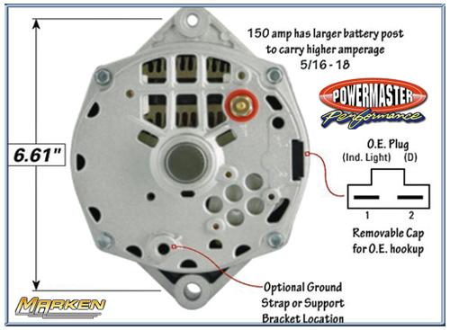 ford powermaster alternators wiring wiring diagram local  ford powermaster alternators wiring #2