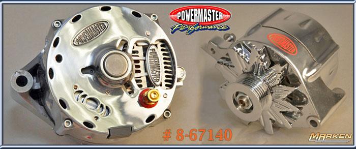 [DIAGRAM_09CH]  Powermaster 1 Wire 140 Amp Alternator 8-67140 | Ford Powermaster Alternators Wiring |  | Marken Performance