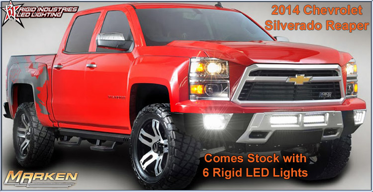 New Chevy Silverado REAPER & LED Grilles - Mazda Forum