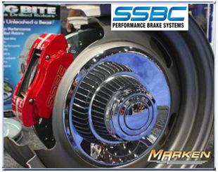 SSBC Front Brake Upgrade for 2007-14 Jeep Wrangler JK Part