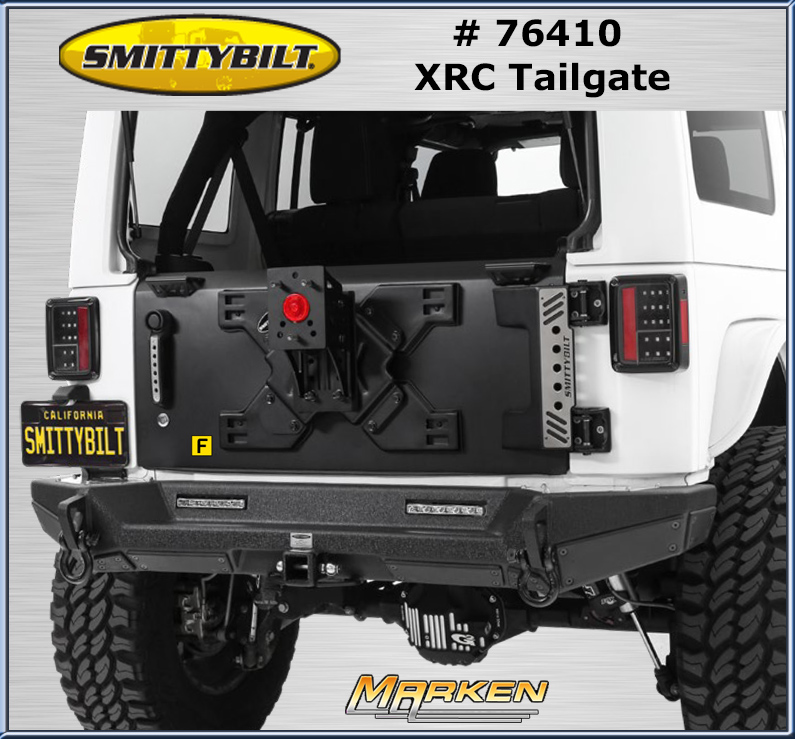 Smittybilt Strong XRC Tailgate for the Jeep JK
