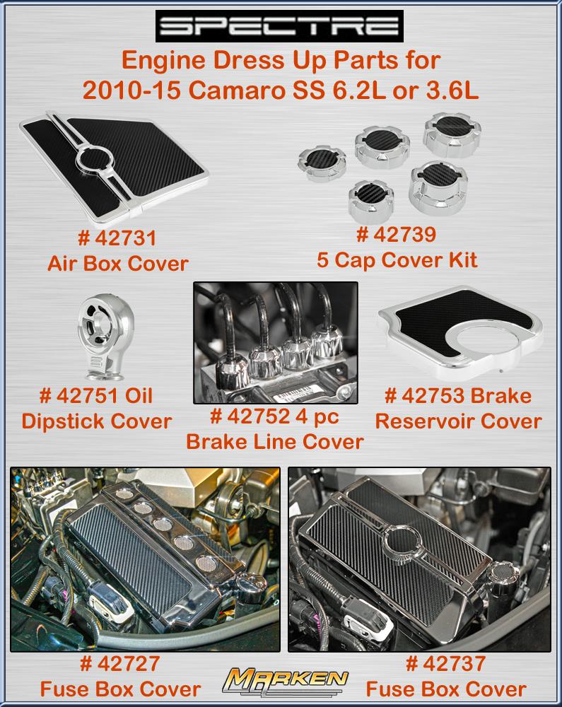 Spectre Performance 42753 Brake Reservoir Cover