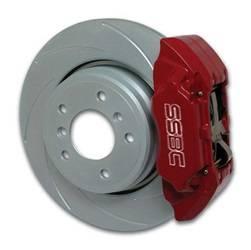 SSBC Performance Brakes Extreme 4-Piston Disc Brake Kit