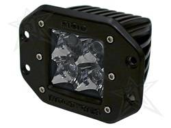 Rigid Industries - D-Series Dually 10 Deg. Spot LED Light - Rigid Industries 21222 UPC: 815711012736 - Image 1