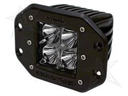 Rigid Industries - D-Series Dually 20 Deg. Flood LED Light - Rigid Industries 21211 UPC: 815711012521 - Image 1