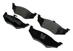 Crown Automotive - Disc Brake Pad - Crown Automotive 5066309TI UPC: 848399034042 - Image 1