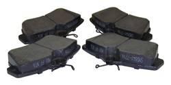 Crown Automotive - Disc Brake Pad Set - Crown Automotive 5017843TI UPC: 848399033304 - Image 1