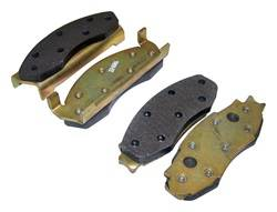 Crown Automotive - Disc Brake Pad Set - Crown Automotive J8131785 UPC: 848399070675 - Image 1