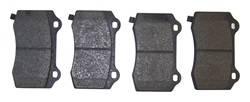 Crown Automotive - Disc Brake Pad Set - Crown Automotive 68003610AA UPC: 848399047875 - Image 1