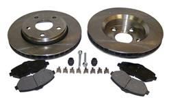 Crown Automotive - Disc Brake Service Kit - Crown Automotive 52060137K UPC: 848399086591 - Image 1