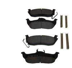 Crown Automotive - Disc Brake Pad Set - Crown Automotive 5080871AA UPC: 848399034783 - Image 1
