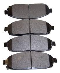 Crown Automotive - Disc Brake Pad Set - Crown Automotive 5080868AA UPC: 848399034776 - Image 1