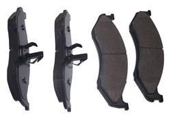 Crown Automotive - Disc Brake Pad Set - Crown Automotive 4883344TI UPC: 848399030372 - Image 1