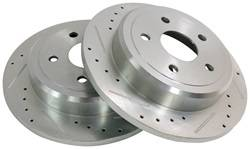 Crown Automotive - Drilled And Slotted Rotor Set - Crown Automotive 52089275DS UPC: 849603000846 - Image 1