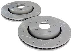Crown Automotive - Drilled And Slotted Rotor Set - Crown Automotive 52089269DS UPC: 849603000853 - Image 1