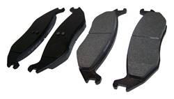 Crown Automotive - Disc Brake Pad - Crown Automotive 5080563AC UPC: 848399034752 - Image 1