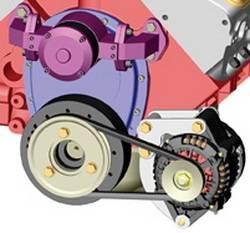 Powermaster - Chrome Low Mount Bracket - Powermaster 1890 UPC: 692209004066 - Image 1