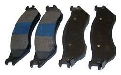 Crown Automotive - Disc Brake Pad - Crown Automotive 5018563AA UPC: 848399086768 - Image 1