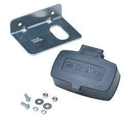 Hopkins Towing Solution - 4-Wire Flat Mounting Box - Hopkins Towing Solution 48755 UPC: 079976487559 - Image 1
