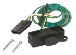 Hopkins Towing Solution - 4-Way Flat Mounting Bracket - Hopkins Towing Solution 48595 UPC: 079976485951 - Image 1