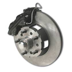 SSBC Performance Brakes - At The Wheels Only Classic 4-Piston Drum To Disc Conversion Kit - SSBC Performance Brakes W156-2BK UPC: 845249049058