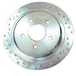 SSBC Performance Brakes - Big Bite Cross Drilled Rotors - SSBC Performance Brakes 23053AA3L UPC: 845249000325