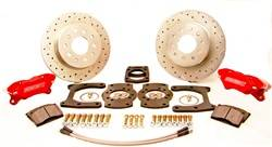 SSBC Performance Brakes - At The Wheels Only Competition Race Series Disc Brake Conversion Kit - SSBC Performance Brakes W112-26BK UPC: 845249071868