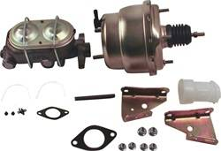 SSBC Performance Brakes - 7 in. Dual Diaphragm Booster/Master Cylinder - SSBC Performance Brakes A28142 UPC: 845249047719