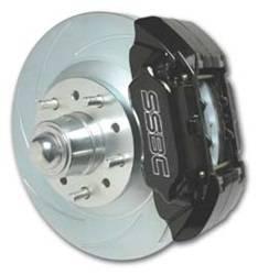 SSBC Performance Brakes - 2-Piston Drum To Disc Brake Conversion Kit - SSBC Performance Brakes A123-6BK UPC: 845249035273
