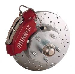 SSBC Performance Brakes - At The Wheels Only Classic 4-Piston Drum To Disc Conversion Kit - SSBC Performance Brakes W133-3 UPC: 845249048815