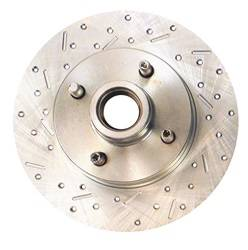 SSBC Performance Brakes - Big Bite Cross Drilled Rotors - SSBC Performance Brakes 23016AA3L UPC: 845249010553 - Image 1